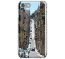 Narrow Streets of Malta with Traditional Houses and Balconies iPhone Case/Skin