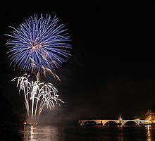 Avignon fireworks II by Joeblack