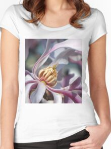 Pink Magnolia Women's Fitted Scoop T-Shirt