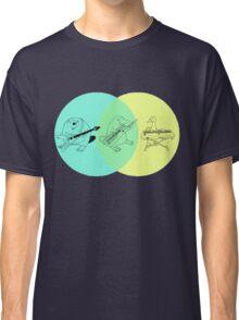 Keytar Platypus Venn Diagram Classic T-Shirt