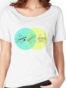 Keytar Platypus Venn Diagram Women's Relaxed Fit T-Shirt