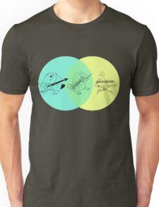 Keytar Platypus Venn Diagram Unisex T-Shirt