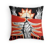 reaching for raven 4 Throw Pillow