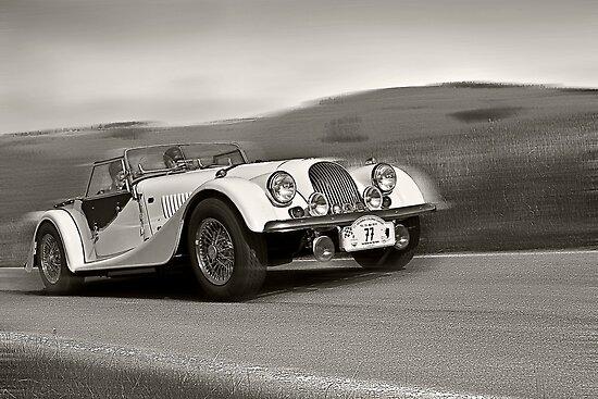 Morgan Plus 8 by Uwe Rothuysen