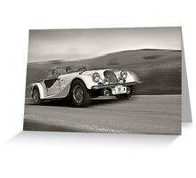 Morgan Plus 8 Greeting Card