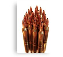 golden ammo  Canvas Print