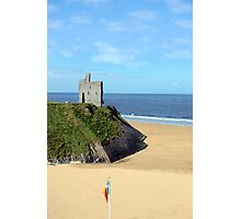 an irish flags view Ballybunion Ireland Photographic Print