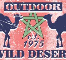 Sahara camel - Morocco Flag Sticker