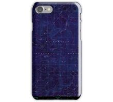 USGS Topo Map Oregon Groundhog Mountain 280109 1986 24000 Inverted iPhone Case/Skin