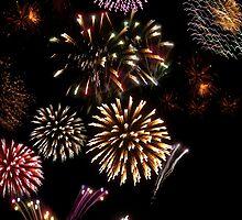 ballybunion ireland new year fireworks display by morrbyte