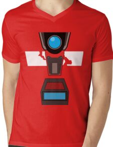 CL4P-TP Face Mens V-Neck T-Shirt