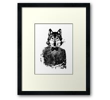 be gentle Framed Print