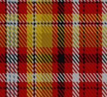 00263 Jacobite Old Sett Tartan  Sticker