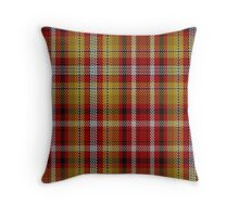 00263 Jacobite Old Sett Tartan  Throw Pillow
