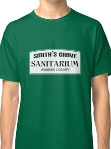 Smith's Grove Sanitarium geek funny nerd Classic T-Shirt