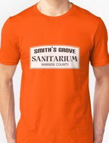 Smith's Grove Sanitarium geek funny nerd T-Shirt