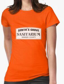 Smith's Grove Sanitarium geek funny nerd Womens Fitted T-Shirt