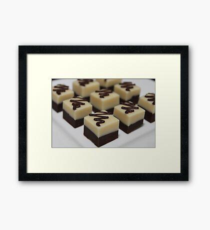 I dream in fudge ... Framed Print
