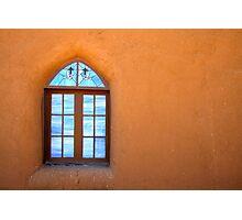 Taos Pueblo Window Photographic Print