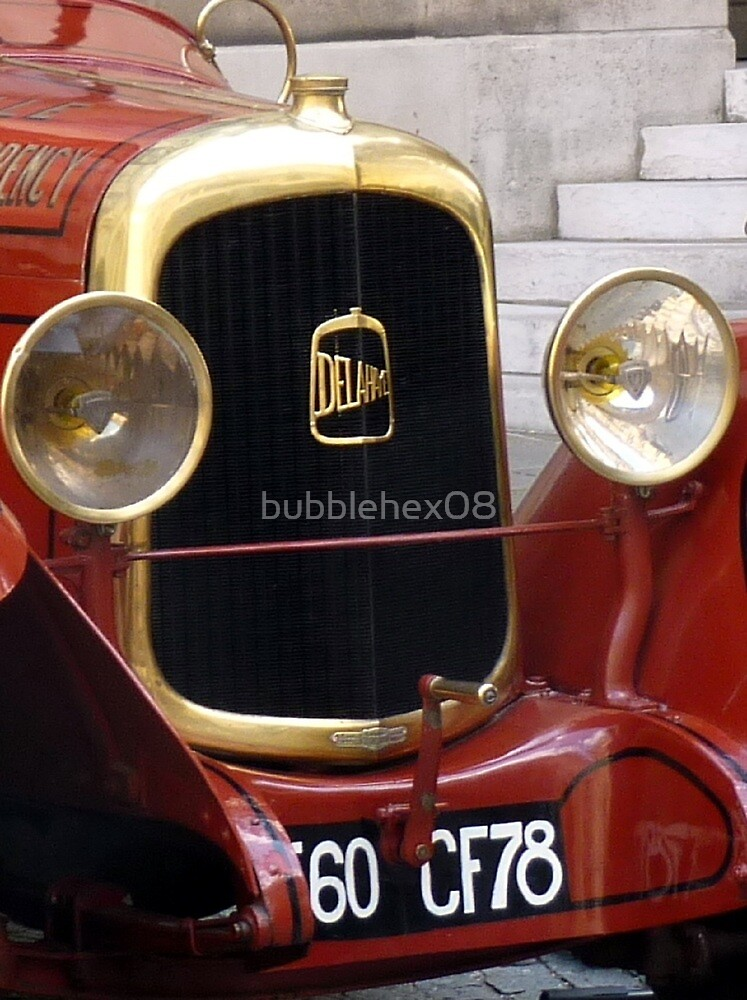 Fire protection engine by bubblehex08