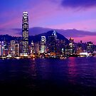 Hong Kong China by Heather Butler
