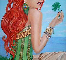 Julia's Four Leaf Clover by nancy salamouny