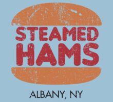 Retro Steamed Hams Kids Tee