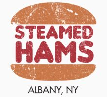Retro Steamed Hams Kids Tee
