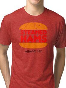 Retro Steamed Hams Tri-blend T-Shirt