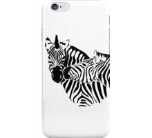 Zebra Love iPhone Case/Skin