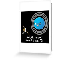 Uranus: Probe What Now? Greeting Card