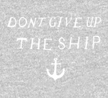 Don't Give Up The Ship One Piece - Long Sleeve