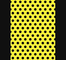 Polkadots Yellow and Black Unisex T-Shirt