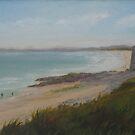 Donabate Beach by Geraldine M Leahy