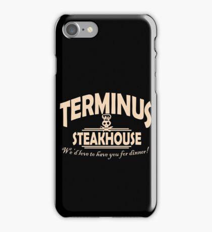 Terminus Steakhouse geek funny nerd iPhone Case/Skin