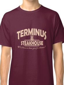 Terminus Steakhouse geek funny nerd Classic T-Shirt