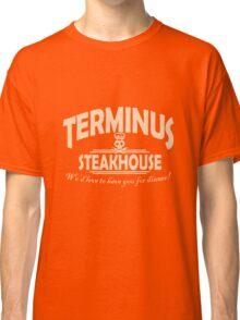 Terminus Steakhouse geek funny nerd Classic T-Shirt
