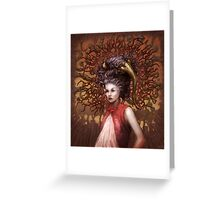 Ravenous Pregnancy in Color Greeting Card