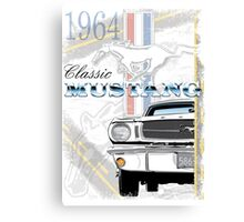 Classic '64 Mustang Canvas Print
