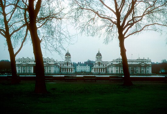 Old Royal Naval College, Greenwich by nealbarnett