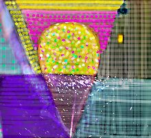 Bubble Gum Abstract by Don Wright