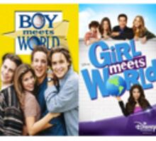 Boy Meets World and Girl Meets World  Sticker