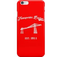 TRANSPORTER BRIDGE iPhone Case/Skin