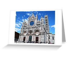 Siena's Duomo-Tuscany Greeting Card