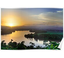 Coquette Sunset - Innisfail, North Queensland Poster