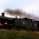 Steaming Uphill by Norfolkimages