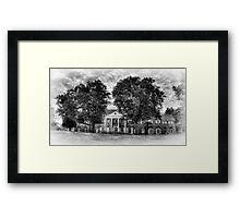 Hayfield House (front view) Framed Print