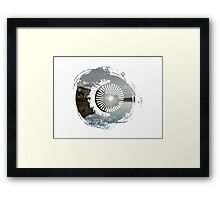 Lake Redefined Framed Print