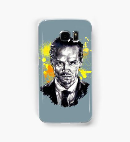 Jim Moriarty + paint Samsung Galaxy Case/Skin