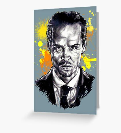 Jim Moriarty + paint Greeting Card